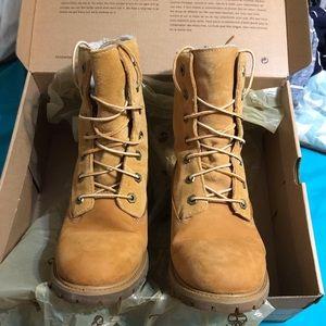 Timberland, fleece lined boots women's size 8.5